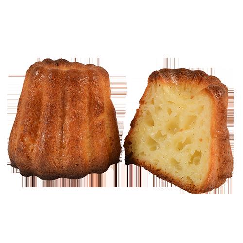 Cannelés bordelais réalisés par Artisan pâtissier Cluzel