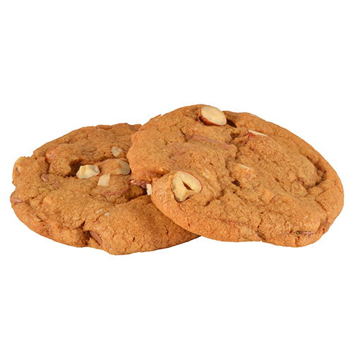 Cookies chocolat au lait et noisettes pâtisserie artisanale sur commande