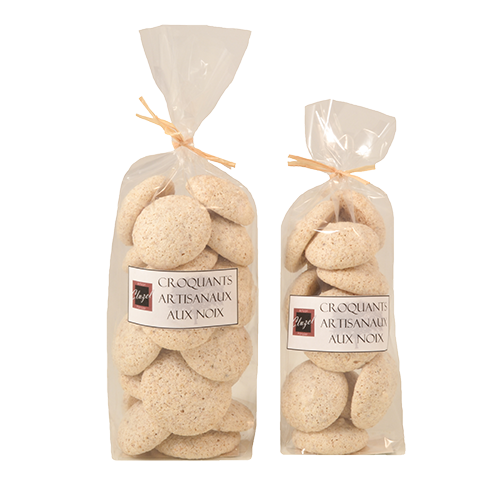 Croquants aux noix réalisés par Artisan pâtissier Cluzel