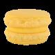 Macaron citron réalisé par Artisan pâtissier Cluzel