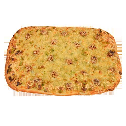 Pizza ravioles et noix pâtisserie artisanale réalisée à St Laurent Royans
