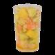 Verrine mangues, crevettes et avocats pâtisserie artisanale sur commande