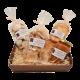 Coffret biscuits gourmands grand format pâtisserie artisanale réalisé à St Laurent Royans