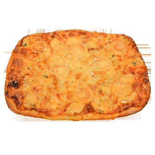 Pizza 4 fromages réalisée par Artisan pâtissier Cluzel